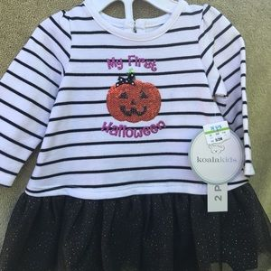 1st Halloween baby dress